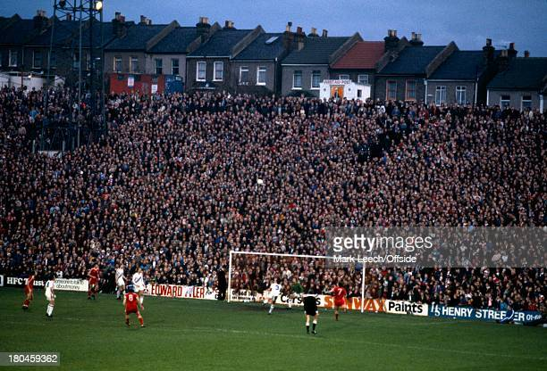 English Football League Division OneCrystal Palace v Nottingham ForestThe crowd looks on from the Holmsdale Road terrace at Selhurst Park
