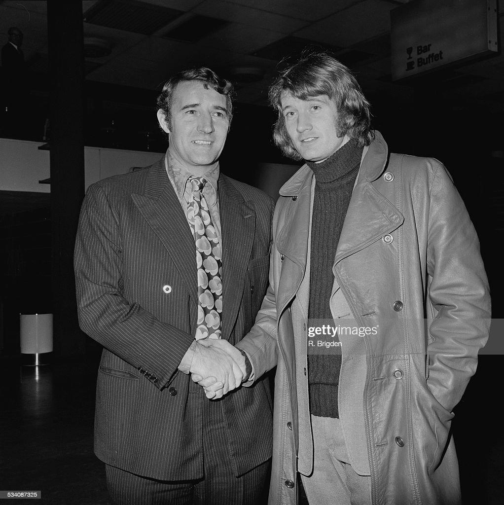 Malcolm Allison And Rodney Marsh : News Photo