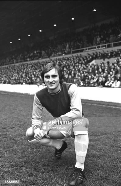 English football player Frank Lampard of West Ham United east London circa 1970