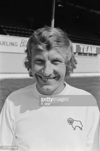 English footballer Alan Hinton of Derby County FC, 1972.