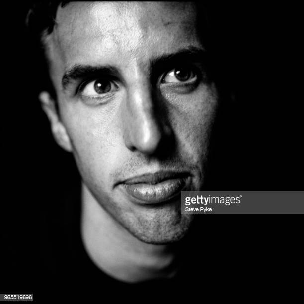 English footballer and later manager Gareth Southgate during his time as a player for Aston Villa Birmingham 23rd July 1996
