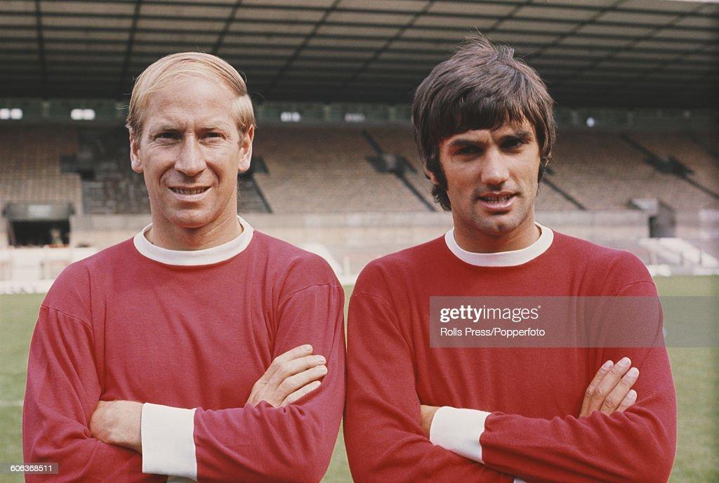 Charlton And Best Of Manchester United : Nachrichtenfoto