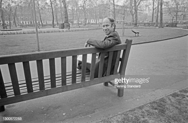 English footballer Bobby Charlton in London, UK, 28th April 1973. He played his last game for Manchester United FC that day, taking on Chelsea at...