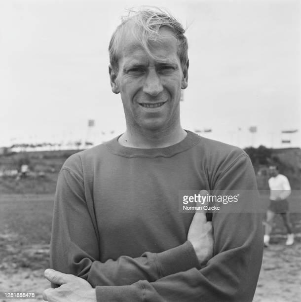English footballer Bobby Charlton of the England World Cup team, UK, July 1966.
