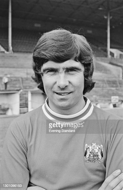 English footballer Bobby Gould of Bristol City FC, a League Division 2 team at the start of the 1973-74 football season, UK, 21st August 1973.