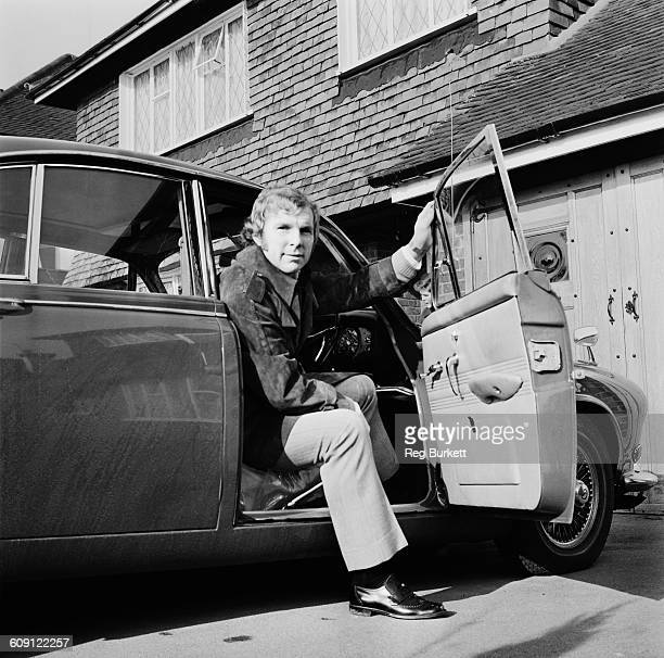 English footballer Bobby Moore at home UK 3rd March 1970