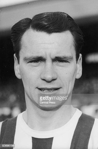 English footballer Bobby Robson of West Bromwich Albion January 1961