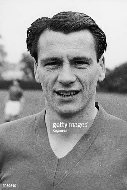 English footballer Bobby Robson who is set to tour Europe with the England team 18th May 1961