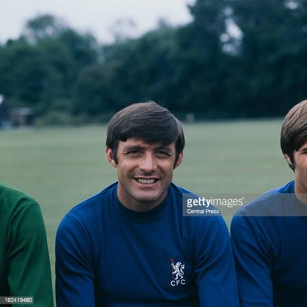 English footballer Bobby Tambling of Chelsea FC 1969