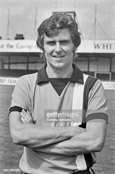 English footballer Bobby Thomson of League Division 2 team Luton Town FC, at the start of the 1973-4 football season, UK, 6th August 1973.