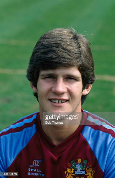 English footballer Brian Laws of Burnley FC circa 1980 Laws became the club's manager in 2010