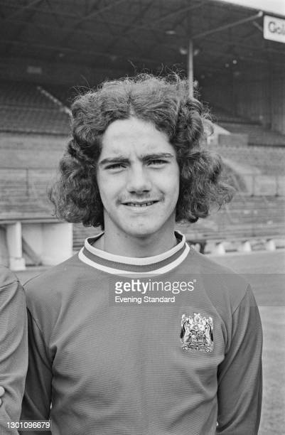 English footballer Clive Whitehead of Bristol City FC, a League Division 2 team at the start of the 1973-74 football season, UK, 21st August 1973.
