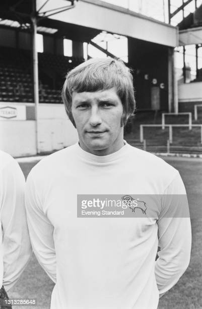 English footballer Colin Todd of League Division One team Derby County FC, at the start of the 1973-74 football season, UK, 30th August 1973.