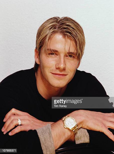 English footballer David Beckham 1999