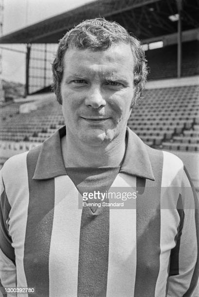 English footballer David Layne of Sheffield Wednesday FC, UK, 25th July 1972.