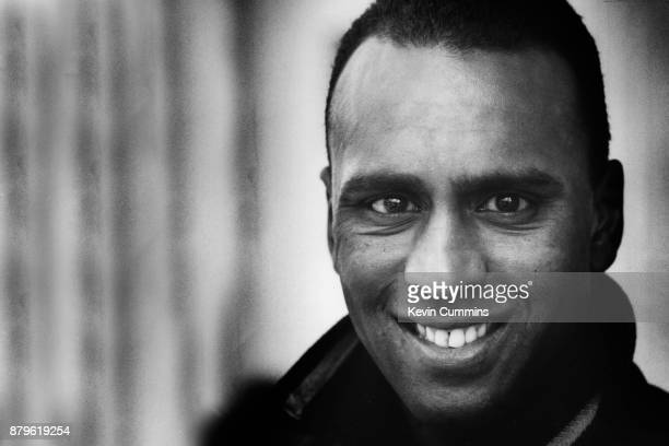 English footballer David Rocastle in Manchester during his time at Manchester City FC March 1994