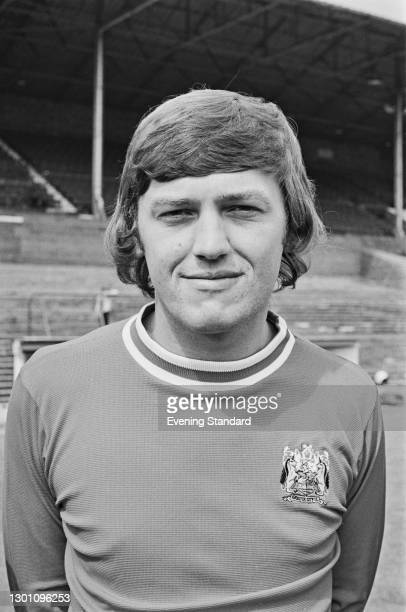 English footballer David Rodgers of Bristol City FC, a League Division 2 team at the start of the 1973-74 football season, UK, 21st August 1973.