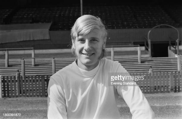 English footballer Don McAllister of Bolton Wanderers FC, UK, 7th August 1972.