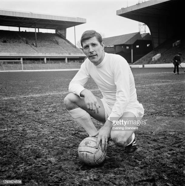 English footballer Don Megson of Sheffield Wednesday FC, UK, April 1966.