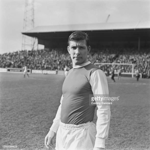 English footballer Don Megson of Sheffield Wednesday FC, UK, March 1967.