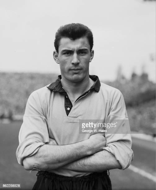English footballer Eddie Clamp the Wolverhampton Wanderers left half 1954