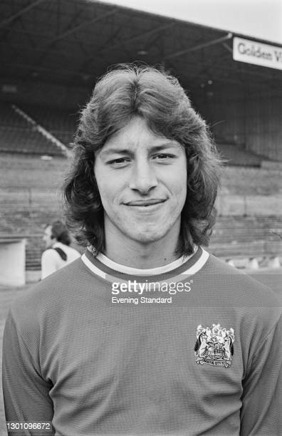 English footballer Gary Collier of Bristol City FC, a League Division 2 team at the start of the 1973-74 football season, UK, 21st August 1973.