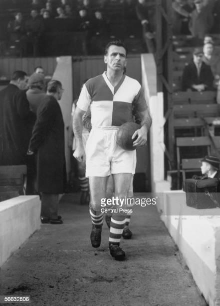 English footballer Geoff Bradford of Bristol Rovers FC 1958