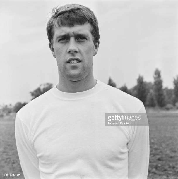 English footballer Geoff Hurst of the England World Cup team, UK, July 1966.