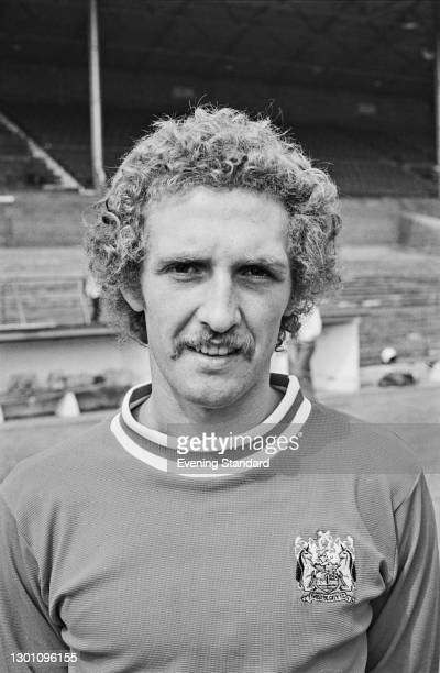 English footballer Geoff Merrick of Bristol City FC, a League Division 2 team at the start of the 1973-74 football season, UK, 21st August 1973.