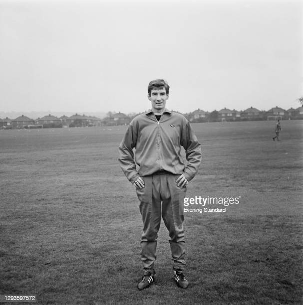 English footballer Geoff Strong of Liverpool FC, UK, 27th January 1967.