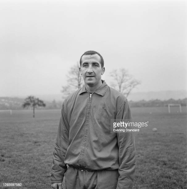 English footballer Gerry Byrne of Liverpool FC, UK, 27th January 1967.