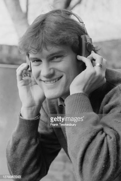 English footballer Glenn Hoddle, 17th February 1985.