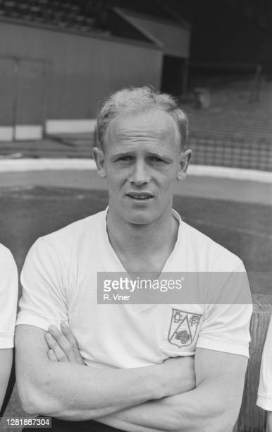 English footballer Gordon Hughes of Derby County FC, UK, August 1965.