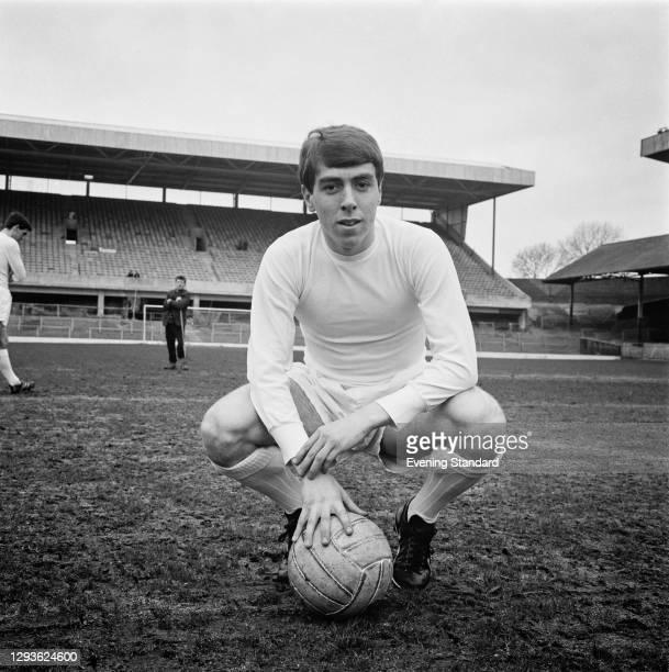 English footballer Graham Pugh of Sheffield Wednesday FC, UK, April 1966.