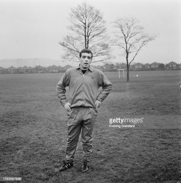 English footballer Ian Callaghan of Liverpool FC, UK, 27th January 1967.