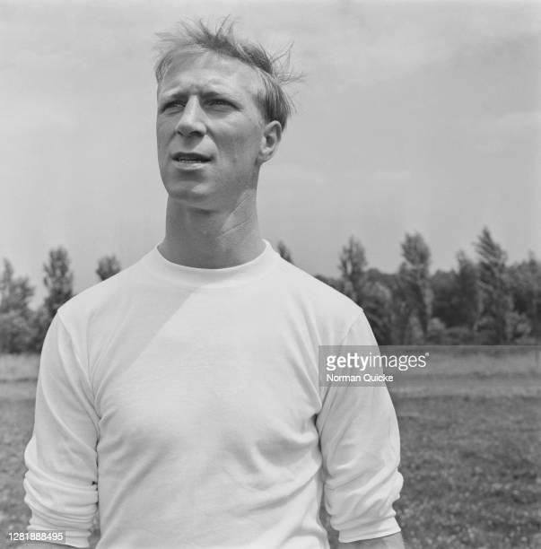 English footballer Jack Charlton of the England World Cup team, UK, July 1966.