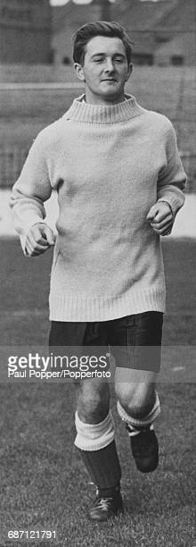 English footballer Jeff Hall of Birmingham City during a training session Birmingham 1959 Hall's early death from polio in April of that year was an...