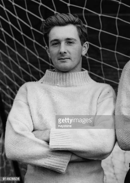 English footballer Jeff Hall the Birmingham City fullback 1955