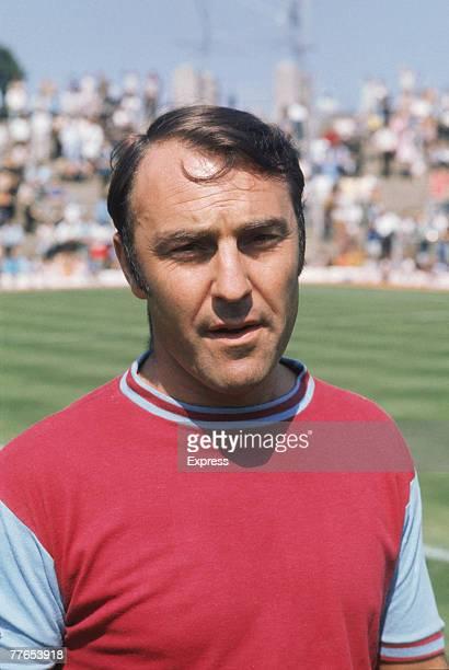 English footballer Jimmy Greaves of West Ham United FC, circa 1970.