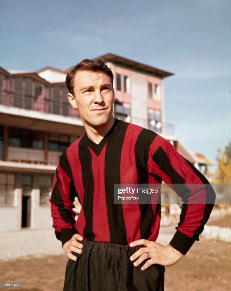 Jimmy Greaves of AC Milan. : News Photo