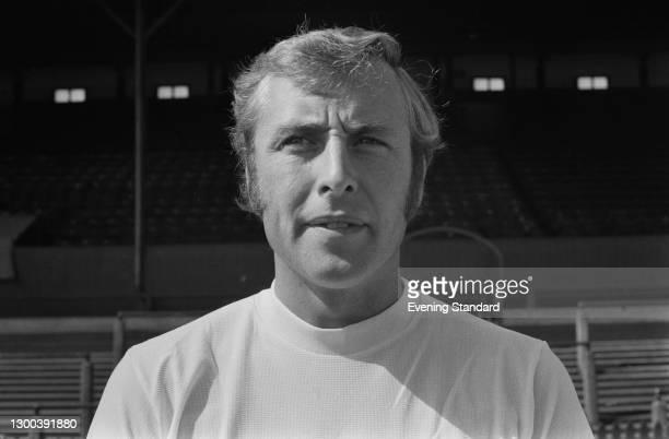 English footballer John Byrom of Bolton Wanderers FC, UK, 7th August 1972.