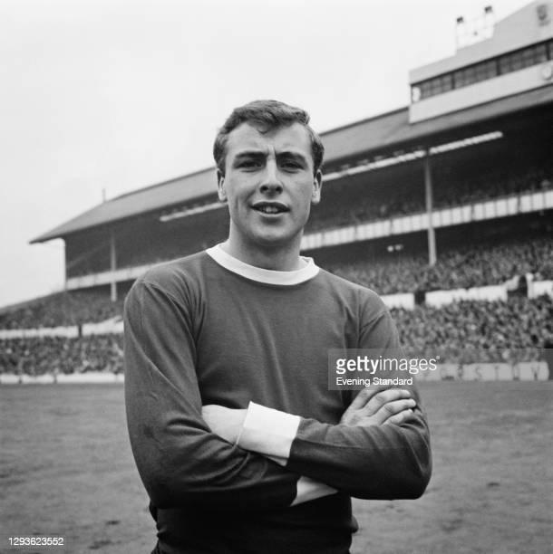 English footballer John Byrom of the Blackburn Rovers FC, UK, 1966.