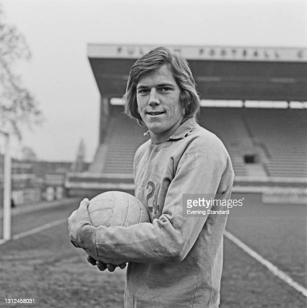 English footballer John Mitchell of Fulham FC, UK, 18th November 1972.