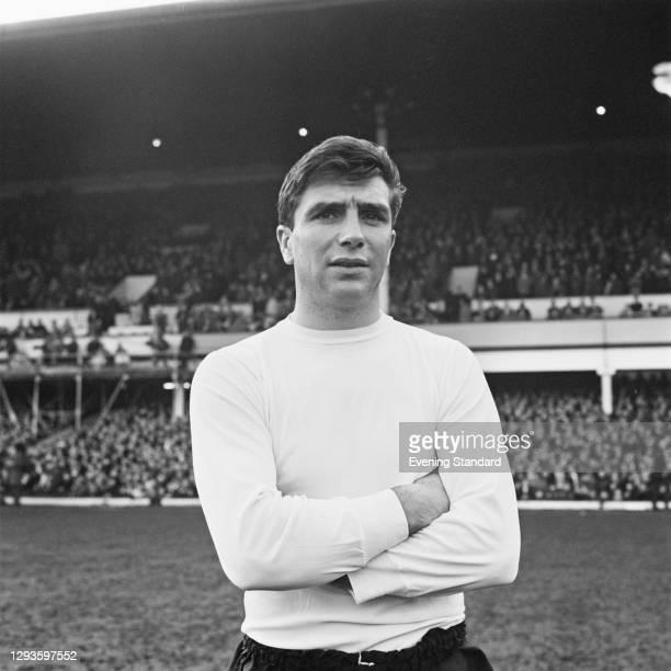 English footballer John Quinn of Sheffield Wednesday FC, UK, January 1967.