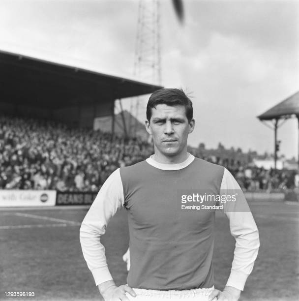 English footballer John Ritchie of Sheffield Wednesday FC, UK, March 1967.