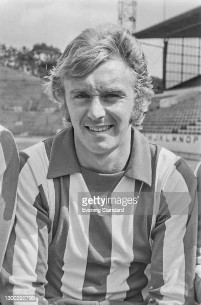 English footballer John Sissons of Sheffield Wednesday FC, UK, 25th July 1972.