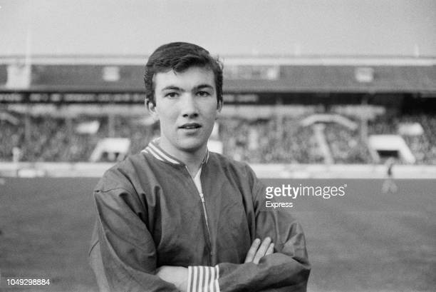 English footballer Jon Sammels of Arsenal pictured prior to playing for the England national under18 football team in the final of the 1963 UEFA...