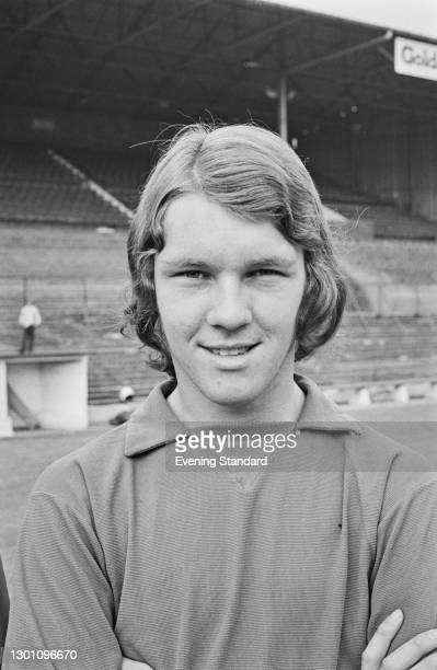 English footballer Len Bond of Bristol City FC, a League Division 2 team at the start of the 1973-74 football season, UK, 21st August 1973.