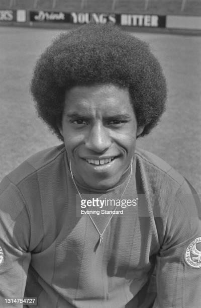English footballer Mark Lindsay of League Division Three team Crystal Palace FC, at the start of the 1974-75 football season, UK, 8th August 1974.