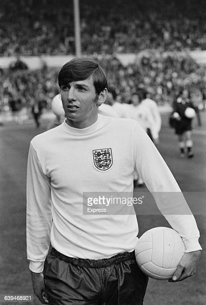 English footballer Martin Peters of Tottenham Hotspur during an international match between England and Wales at Wembley London UK 18th May 1971